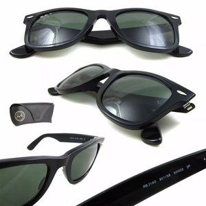 Ray-Ban Wayfarer Classic Black RB2140 POLARIZED